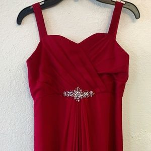 Other - Girls size 10 formal junior bridesmaid dress